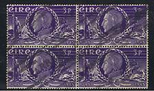 IRELAND 1948 THEOBALD WOLFE TONE - BLOCK OF 4