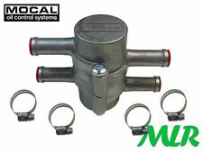 "Mocal OT/1 1/2"" Termostato enfriador de aceite saxo 106 205 306 Golf GTI Calibra Turbo SQ"