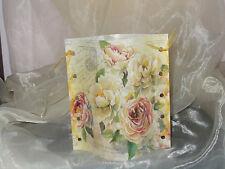 1 Deko Windlicht Rose Rosen Vintage Tischlicht Mitbringsel