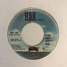 """Mud- """"Dyna-Mite""""  7"""" (1973) VG+  / """"Do It All Over Again"""" / RAK 159 /  SIN3"""