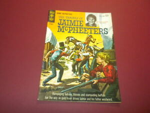 THE TRAVELS OF JAIMIE MCPHEETERS #1 GOLD KEY COMICS 1963 western TV KURT RUSSELL