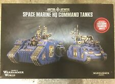 OOP EVENT ONLY Warhammer World Space Marine Land Raider Excelsior Rhino Primaris