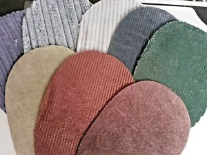 QUALITY CORD OVAL ELBOW PATCHES / TRIMMINGS - A CHOICE OF 8 GREAT COLORS