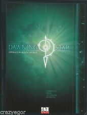 Dawing Star: Operation Quick Launch D20 Modern Space Adventure RPG Hardcover *FS