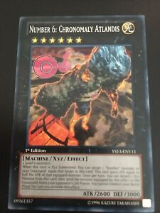 Number 6: Chronomaly Atlandis Common 1st Edition YS13-ENV11