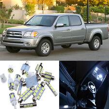 8pcs White Interior LED Light Package Kit for Toyota Tundra 2000-2004