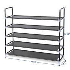 Shoe Rack Organizer Cabinet Storage Shoes Shelves Space Saving 5 Tier