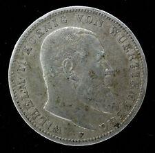 ALLEMAGNE - WURTEMBERG - 3 MARK 1909 F