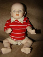 Vintage BISQUE  BABY BOY DOLL  KESTNER ROBIE SIGNED MARKED