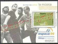 Spain 2006 Music/Singing/People/Arts/StampEx 1v m/s (n34839)