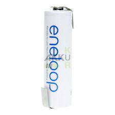 10 X PANASONIC Eneloop AA Battery 1.2V 2000mAh Solder Flag Z - Form / Shape