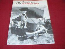 Massey Ferguson 15 Grinder Mixer Dealer's Brochure 490/373-20-3