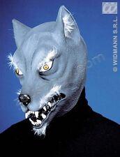 WIDMANN MASCHERA DA LUPO CON PELI Accessori Maschere Wolf Animali Carnevale 8372