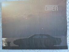 BITTER SC Coupe large folder brochure prospekt - 1980c