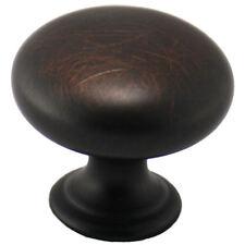 Cosmas Cabinet Hardware Oil Rubbed Bronze Round Mushroom Knobs #4950Orb