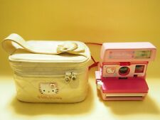 Sanrio Hello Kitty Instant Polaroid Camera 600 with Bag From Japan F/S