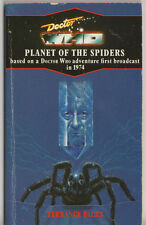 Rare: Doctor Who - Planet of the Spiders. Virgin blue spine edition Target books