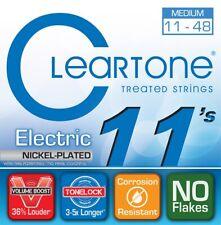 Cleartone 9411 Nickel-Plated Steel Electric Guitar Strings, Medium, 11-48