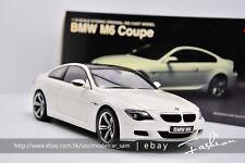 KYOSHO 1:18 BMW M6 white