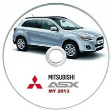 Mitsubishi ASX MY 2013 manuale officina workshop manual