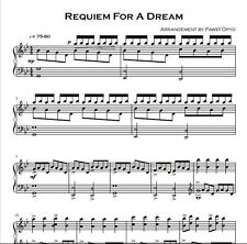 Music score - Requiem for a dream - Pdf