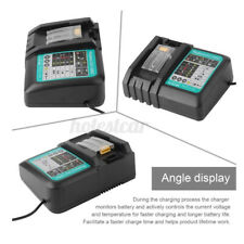 110V - 240V Li-Ion Battery Charger For Makita 14.4-18V DC18RC BL1860 BL1845 UK