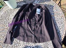Zara Buttoned Poplin Shirt XL Extra Large 14 Straight Neckline Scenes