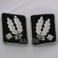 WW2 German Army Brigadeführer Collar Tabs Kragenspiegel Repro Badge