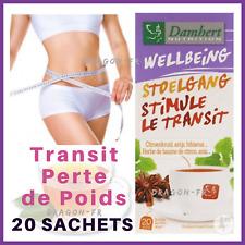 Tisane Laxative Damhert 20 Sachets Thé Transit Amincissante Minceur Détox Régime