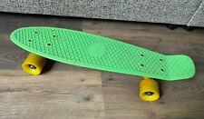 Genuine Official Lime Green Penny Board Skateboard- Australia- Yellow Wheels
