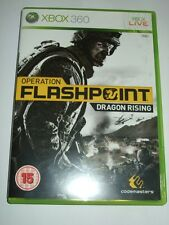 "Operation Flashpoint Dragon Rising  Xbox 360 ""FREE UK  P&P"""