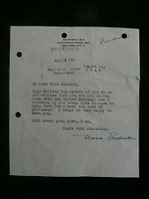 Eleanor Roosevelt 1946 Letter & Other Correspondence to Dame Mary Smieton - U.N.
