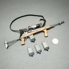 "1:6 BBI SEAL Sniper ""Hawkeye"" M14 Rifle w/ Scope 12"" GI Joe Dragon DamToys SWAT"