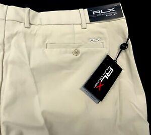 Ralph Lauren RLX Mens Golf Performance Moisture Wicking Golf Pants Khaki $100