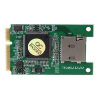 SD TF Card to Mini PCI-E mSATA SSD Solid State Drive Adapter Converter