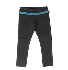 Kirkland Signature Ladies' Active Yoga 3/4 Leggings, Black/Green