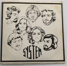 """Very Rare Obscure OHIO Private Rock LP ~ """"SYSTEM"""" Self-Titled ~ CLEAN ~ Hear!"""