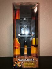 "Minecraft Large Scale 9"" Wither Skeleton Action Figure New In Box RARE!"