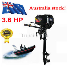 3.6HP 2-Stroke Outboard Motor Fishing Boat Engine Water Cooling System CDI AUS