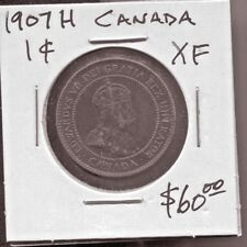 CANADA - FANTASTIC EDWARD VII CENT, 1907 H (BEST DATE)