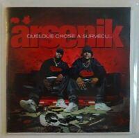 ARSENIK : QUELQUE CHOSE A SURVECU (18 TITRES) ♦ CD Album Promo ♦