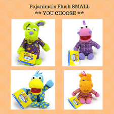Jim Henson's Pajanimals Plush SMALL Stuffed Animal Apollo Squacky SweatPea Cow