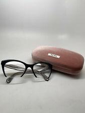 MUI MUI Women's Eyeglasses Model VMU 03Q-A Color H5X-101 Size 51-19-140
