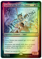 4x FOIL Gallia of the Endless Dance Theros Beyond Death THB MtG MasteringtheGame