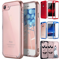 For Apple iPhone 8 7 Plus Ultra Slim Shockproof  SoftTPU Bumper Clear Case Cover