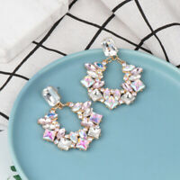 Geometry  Women  Rhinestone  Ear Stud Earring Colours  Dangle  Earrings  Drop
