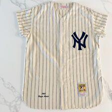 Roger Maris 9 Mitchell & Ness NY Yankees 1961 Baseball Jersey Wool USA 44 New