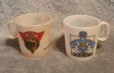 Vintage Mighty Morphin Power Rangers Cups BILLY & JASON