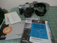 Minolta Maxxum 5 Camera with 49mm lens & Case GREAT CONDITION