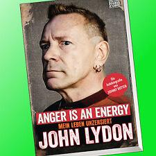 JOHN LYDON (Johnny Rotten) | ANGER IS AN ENERGY | Mein Leben UNZENSIERT (Buch)